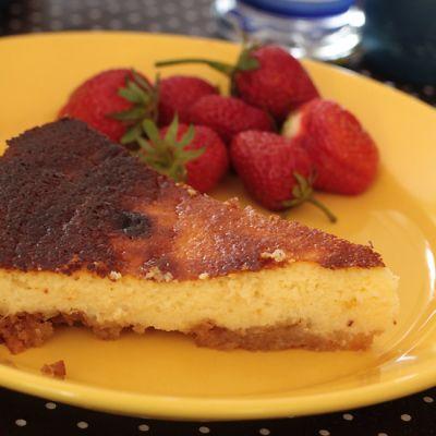 Cheesecake breton aux Traou Mad