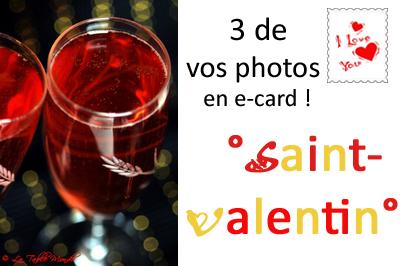 3 de vos photos en e-card !