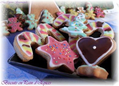 Biscuits en pain d'épices, par Delphine du site Ma cuisine gourmande