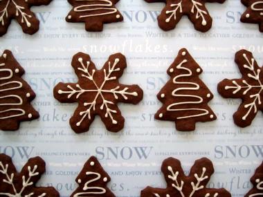 Biscuits abaissés au chocolat, par Vanessa du blog Confiture Maison