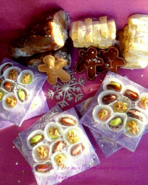 Petites gourmandises de Noël, par Tifenn du blog Se nourrir de la tête aux pieds